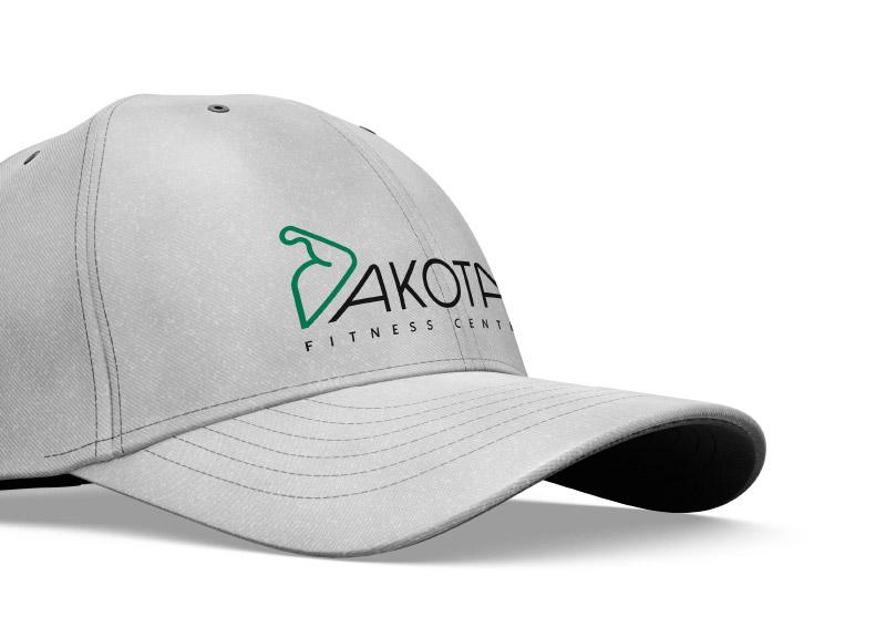 applicazione logo cappellino