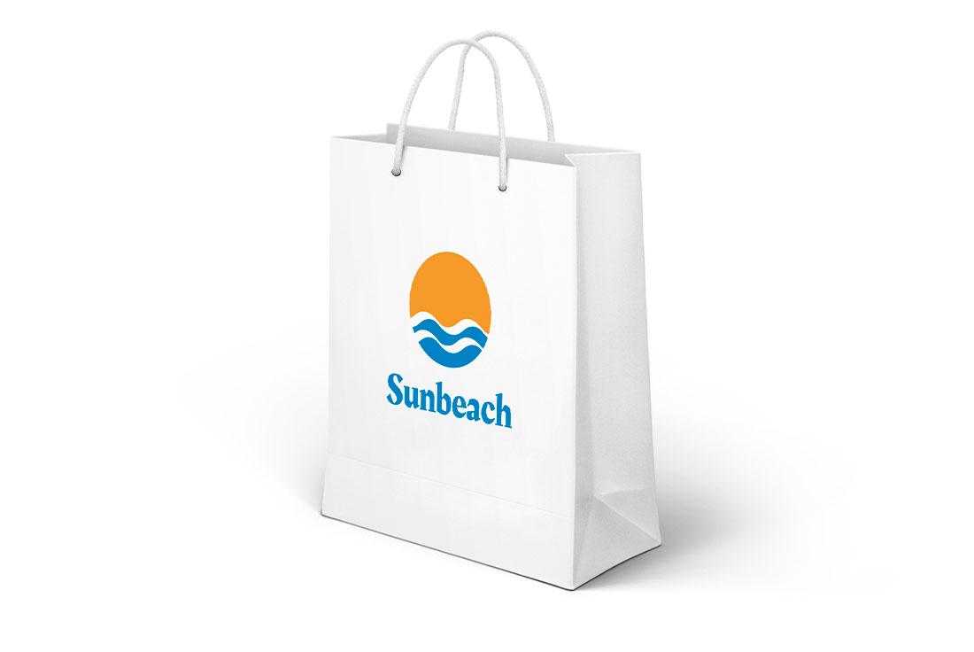 logo professionale su shopper