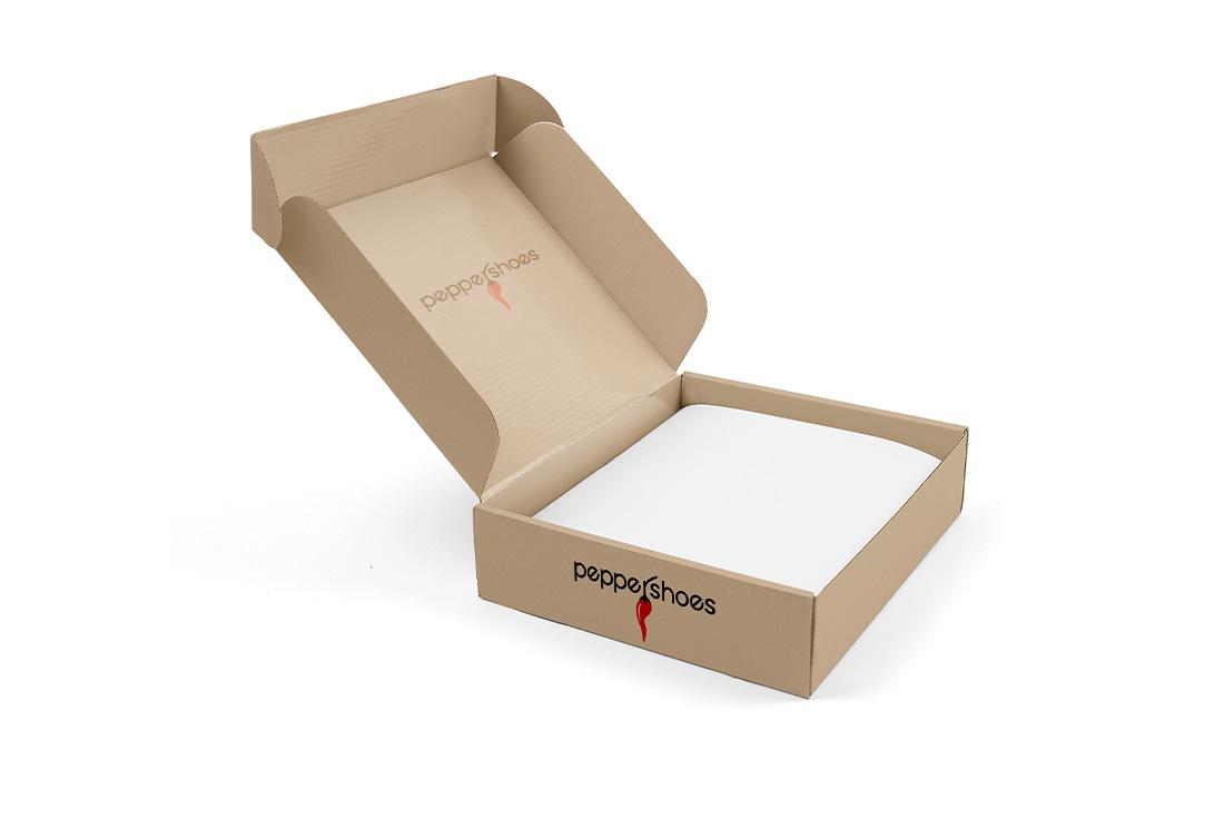 logo professionale su scatola