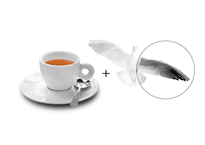 concept logo caffetteria