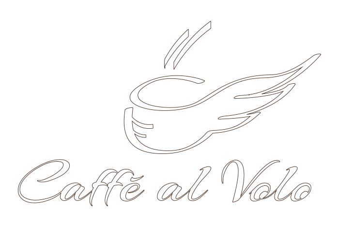 lettering logo caffetteria