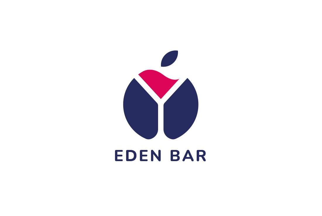 logo professionale eden bar