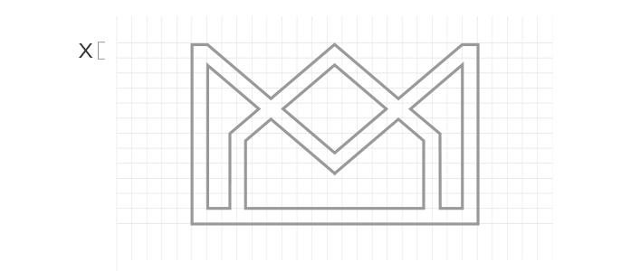 pittogramma logo verbo visivo